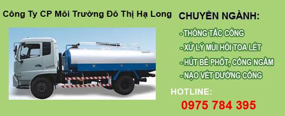 Hút bể phốt Ba Chẽ, Quảng Ninh